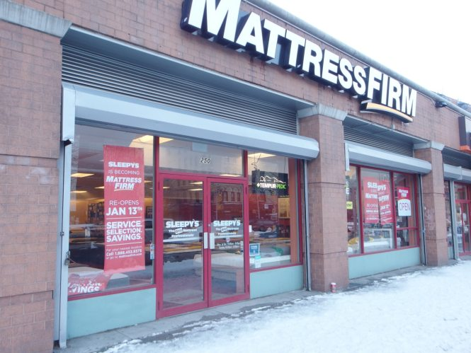 East Houston Sleepy S Closes For Rebranding To Mattress Firm Bowery Boogie