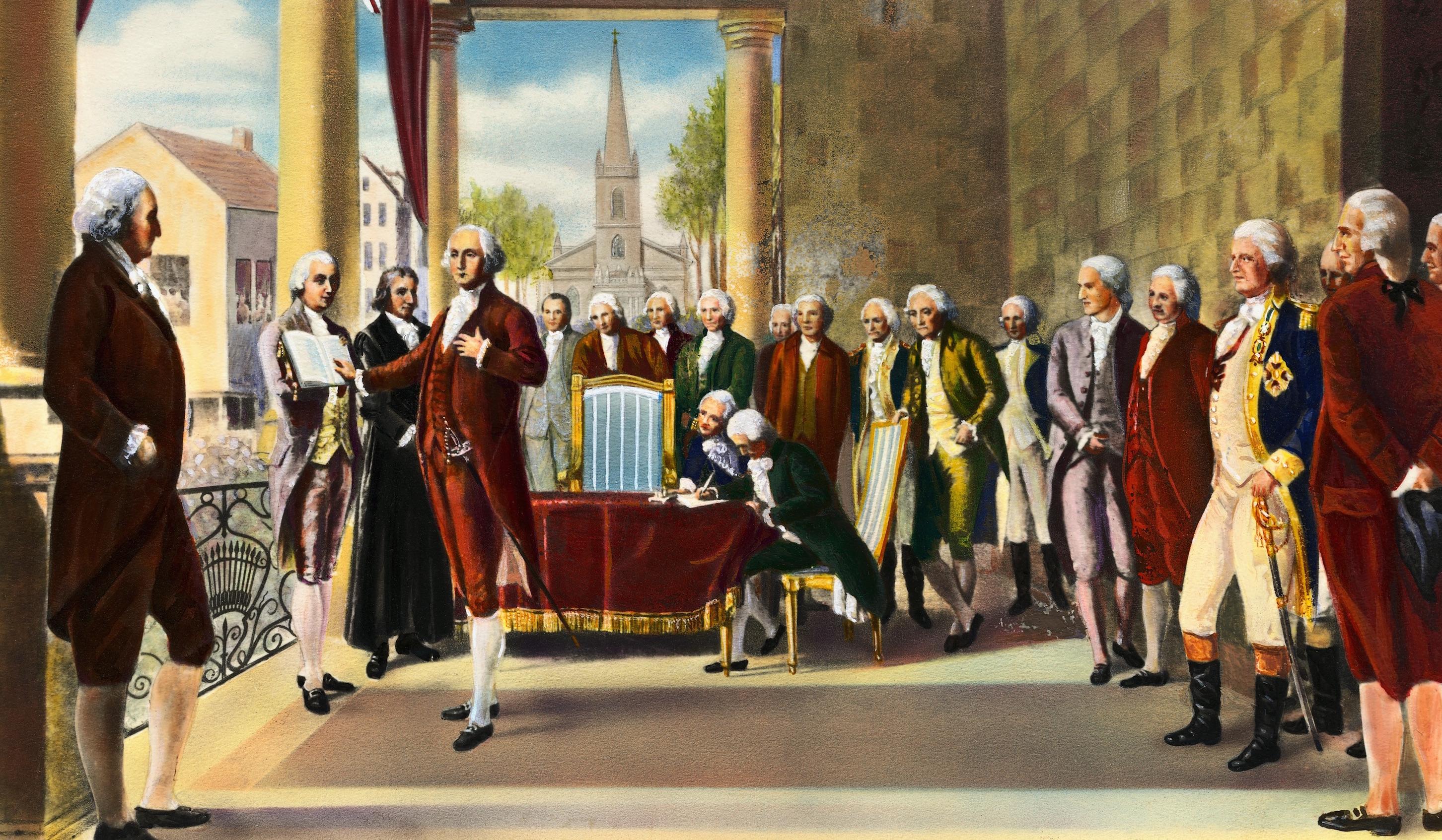 New York City And The Inauguration Of George Washington
