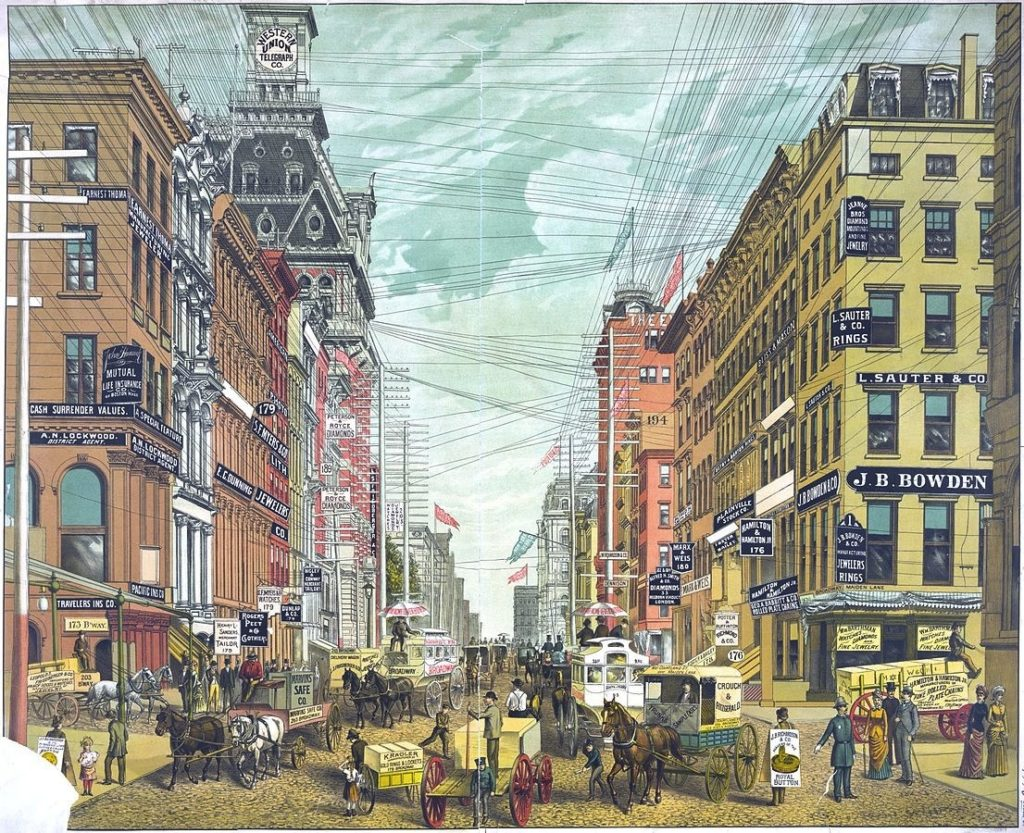 The Origin Of Broadway The Story Of A Street