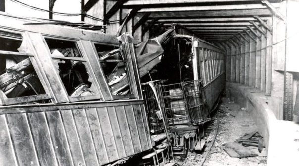 Image result for 1918 – Malbone Street Wreck: The worst rapid transit accident in US history occurs under the intersection of Malbone Street & Flatbush Avenue, Brooklyn, NY, with 202 deaths
