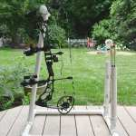 How To Build A Folding Pvc Bow Stand Bowhunting Com