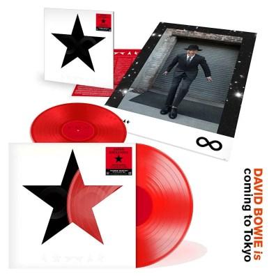 Blackstar single (David Bowie Is exhibition,Japan, 2017)