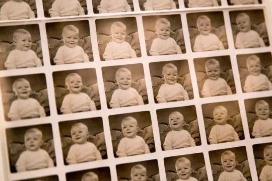 David Bowie as a baby, November 1947