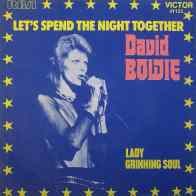 Let's Spend The Night Together single –France
