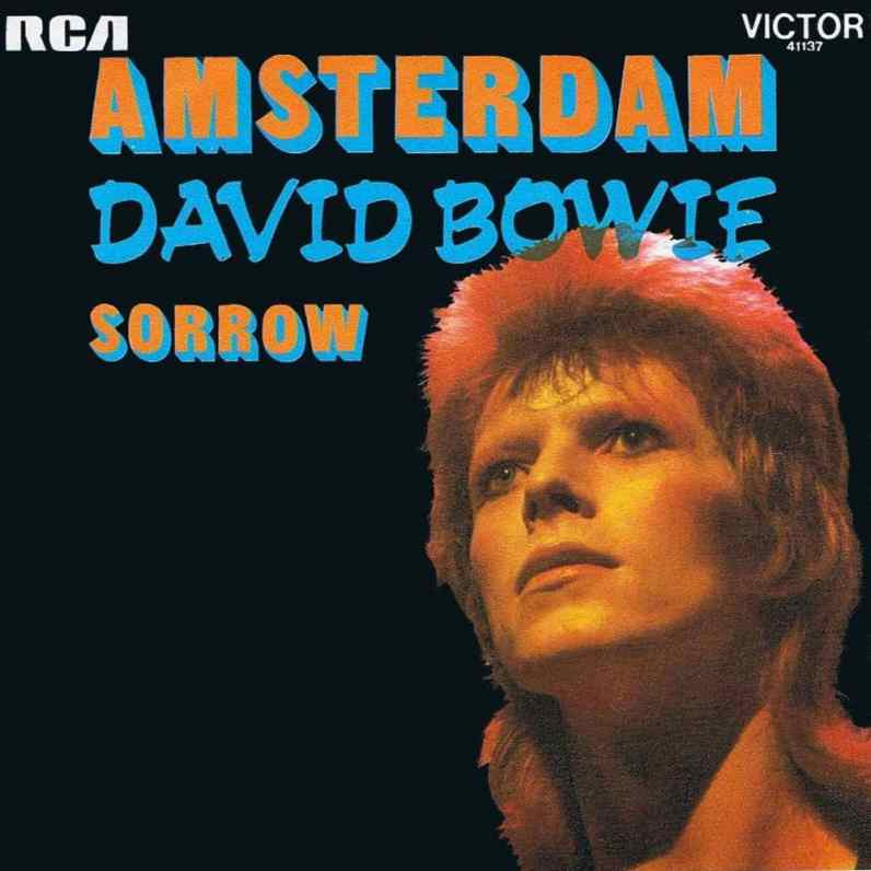 Sorrow/Amsterdam single – France