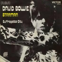 Starman single –France