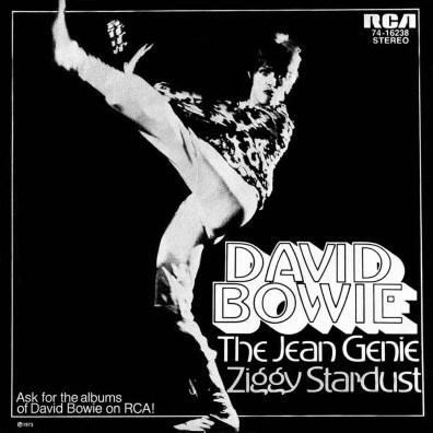 The Jean Genie single –Germany