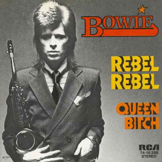 Rebel Rebel single – Germany