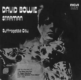 Starman single –Germany