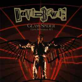 Glass Spider (Live Montreal '87) album cover artwork