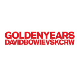 Golden Years (David Bowie vs KCRW) cover artwork