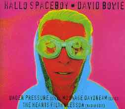 Hallo Spaceboy CD single