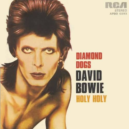 Diamond Dogs single – Italy