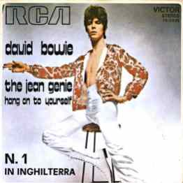 The Jean Genie single – Italy