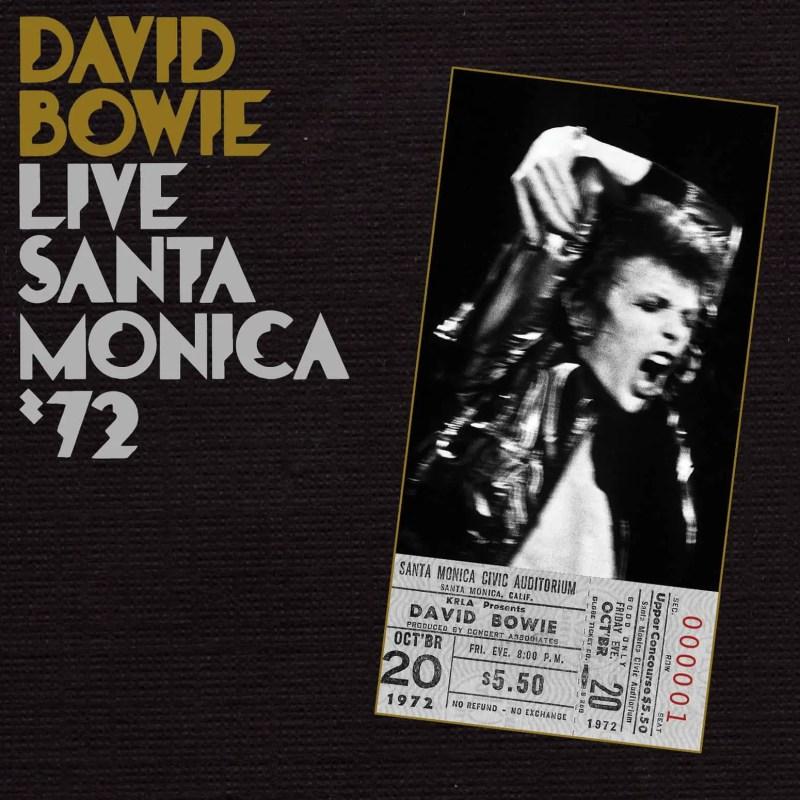 Live Santa Monica '72 album cover