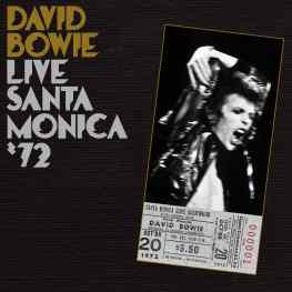 Live Santa Monica '72 album cover