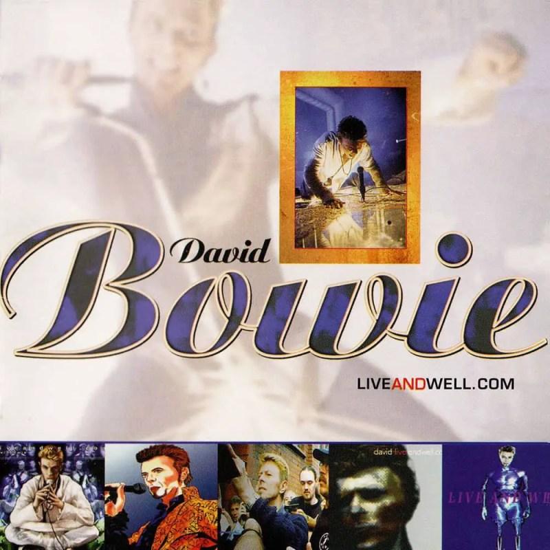 David Bowie –liveandwell.com album cover