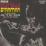 Starman single –Spain