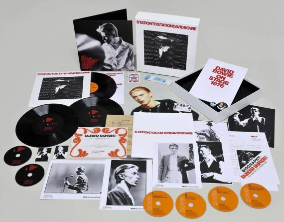 Station To Station deluxe edition box set (2010)