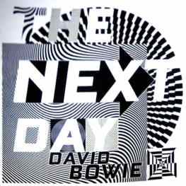 Unused artwork by Jonathan Barnbrook for David Bowie's The Next Day (2013)