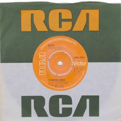Diamond Dogs single –United Kingdom