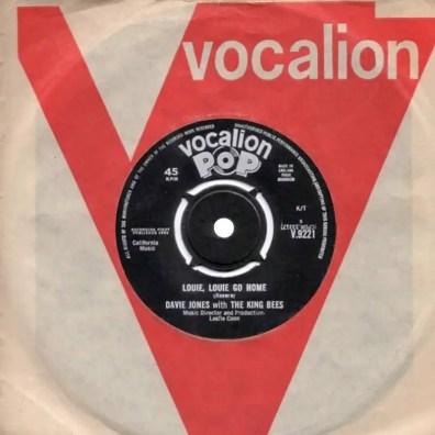 Louie, Louie Go Home single –United Kingdom