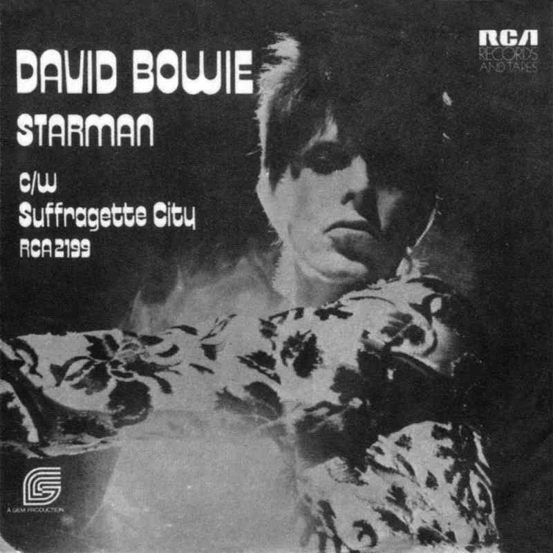 Starman single – United Kingdom