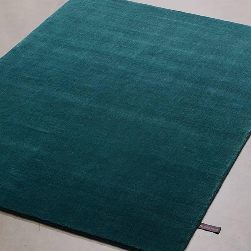 tapis bleu vert enredada