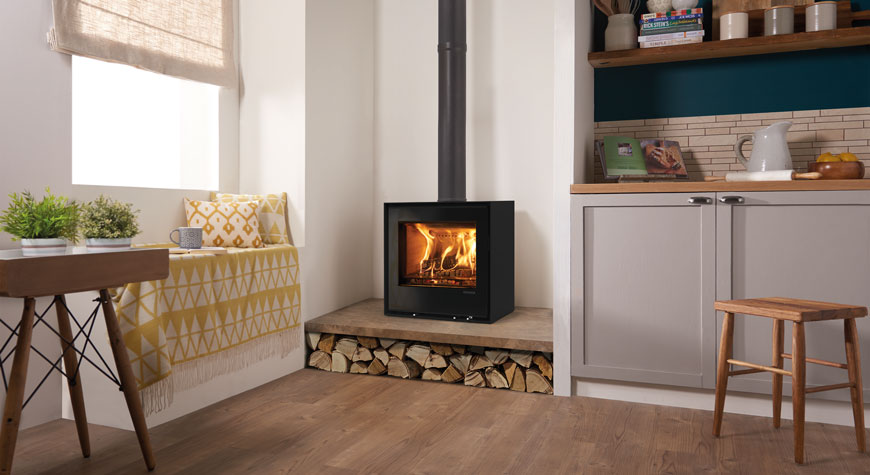 elise glass 540 freestanding stove