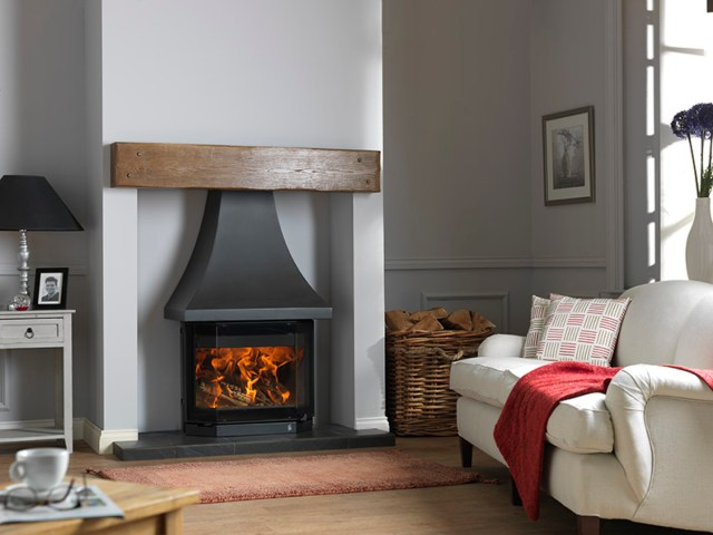 ACR Elmdale Stove, class in glass