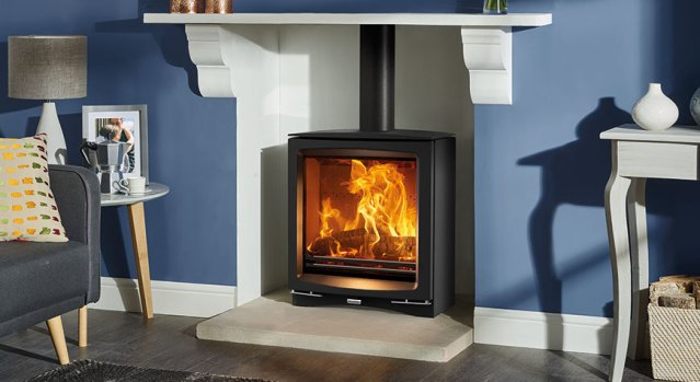 Review of Vogue Slimline wood-burning and multifuel stove