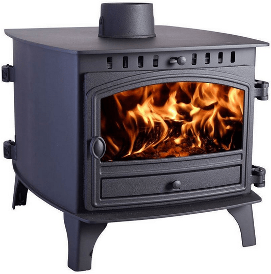 Hunter Herald 8 Double-Sided Double Depth Stove