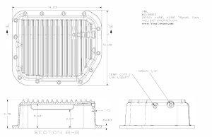 Dodge A500 (40RH, 42RH, 42RE, 44RE) Deep Transmission Pan | Transmission Parts