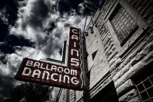 Tulsa Cains Ballroom taken from street.