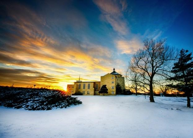 Broken Arrow Convent in Winter