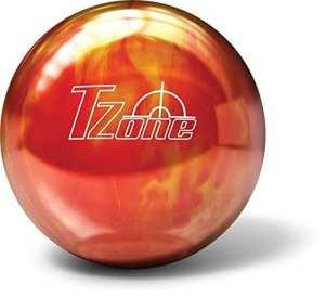 Boule de bowling de bowling Brunswick Zone T Cosmic–Hot Lava, 14 lbs