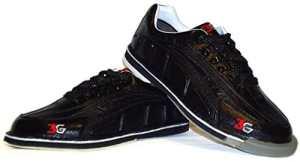 Chaussures de bowling larges pour homme 3G avec tour en wechselsohle -hacke/ultra-déchirures Noir US 10.5 (43)