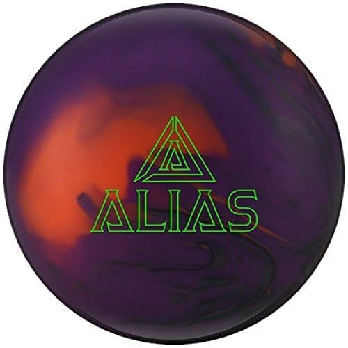 Track Alias High Performance réactive de bowling Balle Boule de bowling très polyvalent sur toutes les conditions avec emax Nettoyant et serviette microfibre, 13 LBS