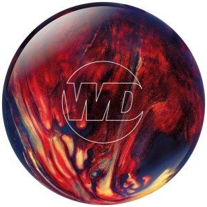 WD Columbia 300 White Dot Boule de bowling rouge Scarlet/Gold/Black 13 lb lb