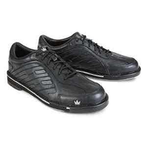 Brunswick Team Chaussures de bowling pour homme, blanc/argent, taille 9