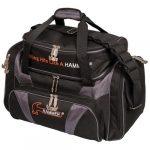 Hammer Premium Deluxe Sac de bowling double, H906-50, Noir/gris carbone, taille unique