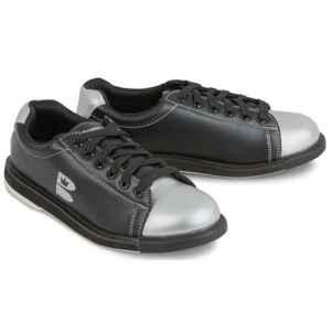 Brunswick T Zone Chaussures de Bowling pour Adulte Unisexe, 58001321-7, Noir/argenté, 44