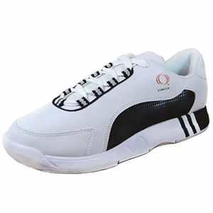 Circle , Chaussures de bowling pour femme schwarz weiss 40.5