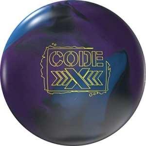 Storm Bowling Code x Boule de Bowling Boule de Bowling Haute Performance réactive avec Beaucoup Beaucoup Arc à Huile, 14 LBS