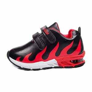 CHshe, Chaussures de Bowling pour Garçon – Rouge – Red, 28 EU