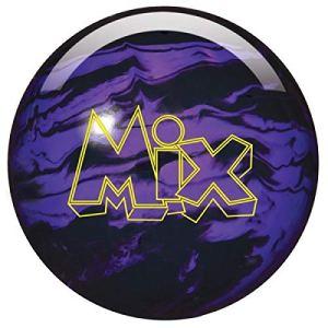 Storm Mix Boule de Bowling en Polyester pour débutants et Professionnels, Noir/Violet, 14 LBS