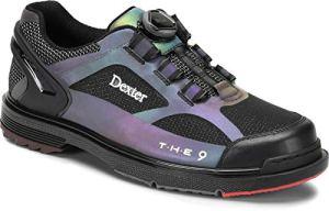 Dexter The 9 HT BOA – Chaussures de Bowling pour Homme et Femme avec Semelle Amovible, système de Fermeture BOA dans Les Tailles de Chaussures 37-46 et Mein-Bowlingshop, 42