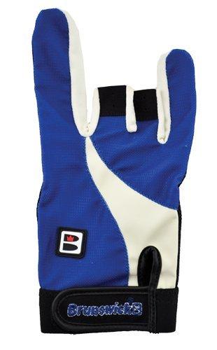 Brunswick Power X Gant de Bowling Noir Noir/Bleu Roi L/droitier