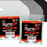 Genesis Sync Performance, Fitting, Protection, Pouce et Release Bowling Tape Disponible en Plusieurs Tailles et Fer à degrés, Silber, 1″ 10 Stück