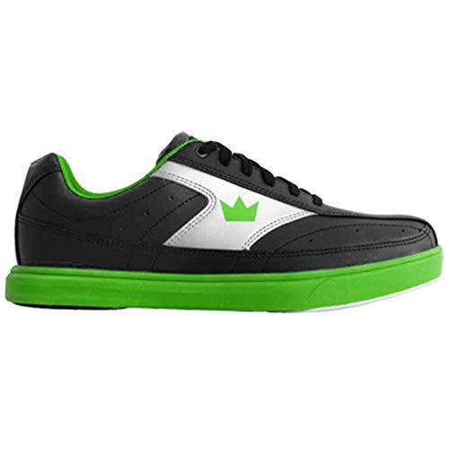 Brunswick Bowling Products Renegade Chaussures de Bowling pour Homme Noir/Vert Fluo Taille M US